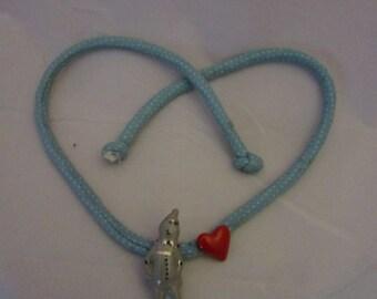 Tinman Necklace or bracelet