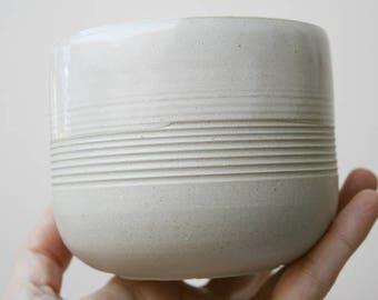 Wheel Thrown Planter. Stoneware Cactus Succulent Indoor Planter. Pottery Handmade. Ceramic planter. Succulent planter. Planter Flower Pot.