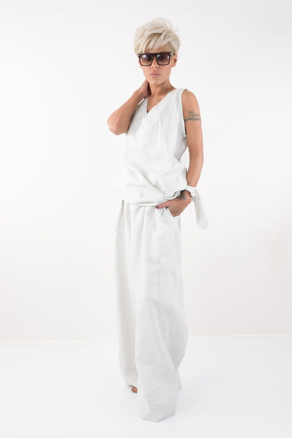 Linen High Women Women Clothing Waisted Harem Pants Pants Linen Pants Pants Linen Pants Harem Womens Pants Clothing Palazzo Linen w8zaqx8X