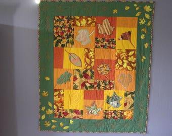 Medium orange patchwork