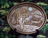 Elk Wall Clock, Wildlife ...