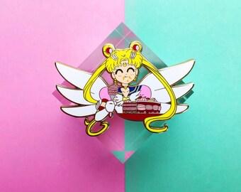 Eternal Sailor Moon Cake Pin