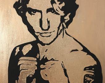 Justin Trudeau pop art