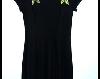 Day of the Dead Tattoo Roses Dress....Size M/L