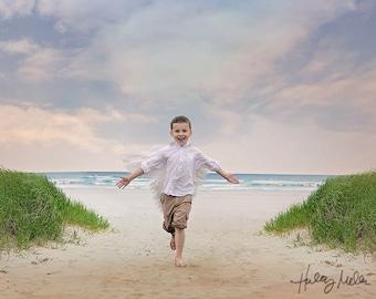 Ocean/Beach Digital Backdrop/Background for Photography Composite Digital Art