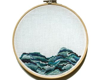 Today, Forever Embroidery Art