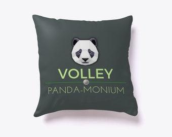 Volley Panda-monium Pillow