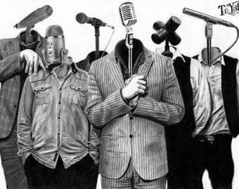 Bedlam Six Microphone Faces