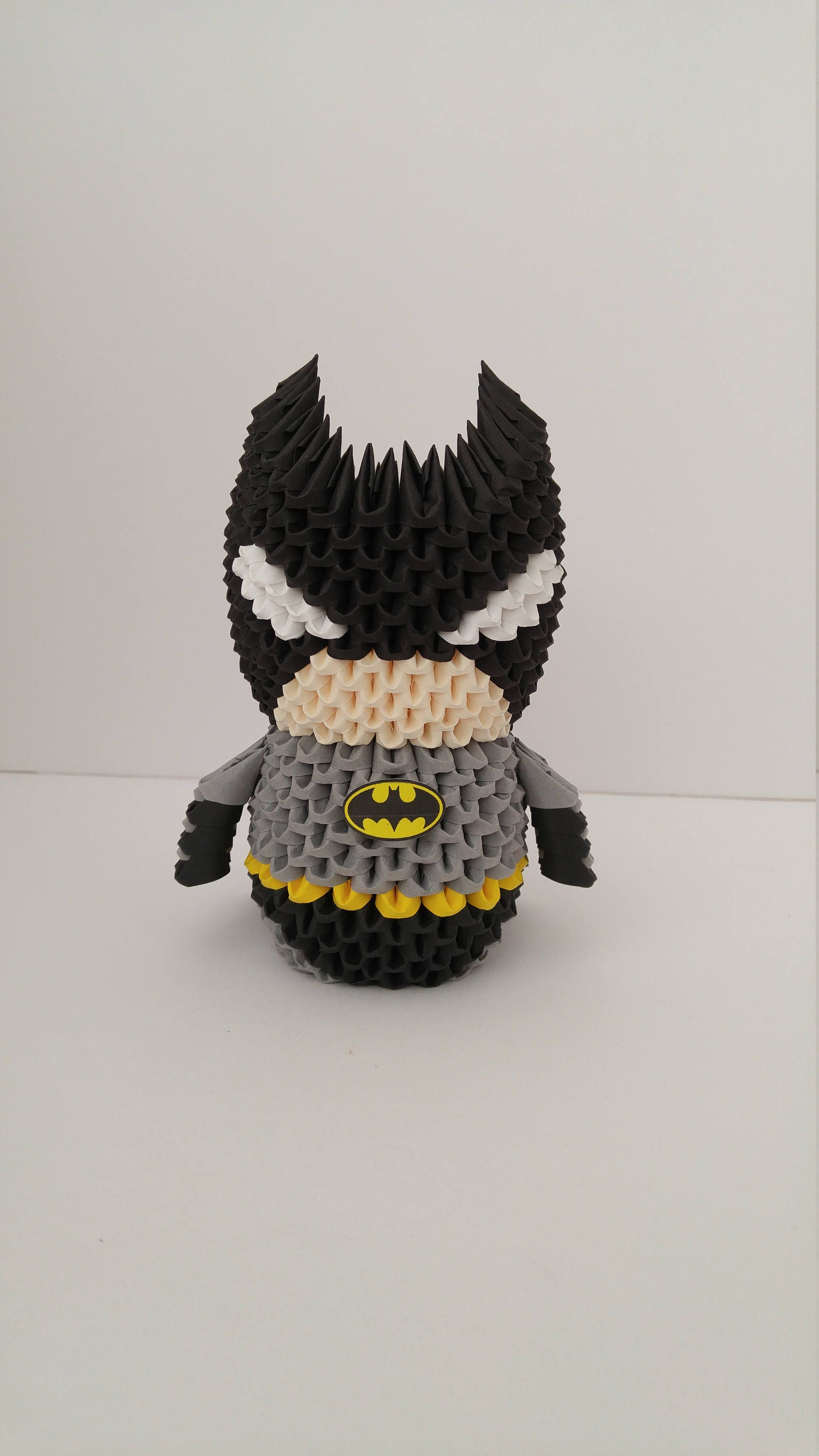 Origami batman zoom jeuxipadfo Image collections