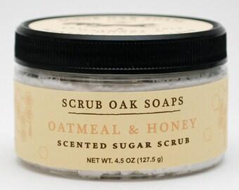 Oatmeal & Honey Sugar Scrub