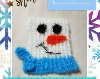 Snowman Scrubby.