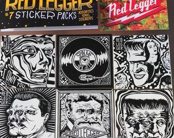 Red Legger Stickers >> No. 1