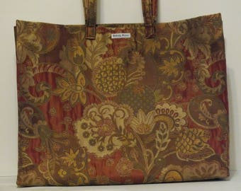 DISCOUNTED Limited Edition Market Bag in print Floral Surprise