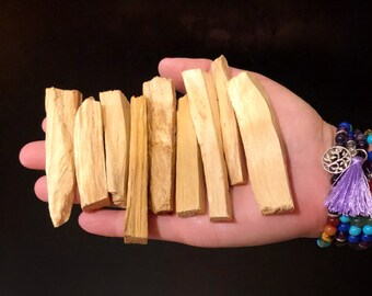 Palo Santo Mini Sticks - 1oz Bag of Small Sticks - Palo Santo Wood - Sample Sizes Palo Santo