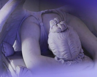 Weeping Angel - 8x8 Fine Art Photography - New Orleans Collection