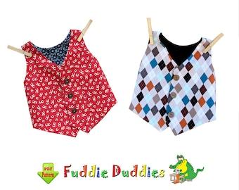 Boys Vest Pattern, Toddler Clothing Pattern, Kids Pattern, Boys Sewing Pattern, Baby Sewing Pattern, INSTANT DOWNLOAD PDF. Jacob