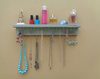 Wall necklace holder Etsy