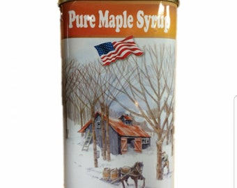 Maple Syrup-Pure Michigan Maple Syrup - Pint