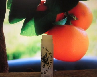 Orange Sorbet Lip Balm  - 31 Luscious Flavors - 100% Natural