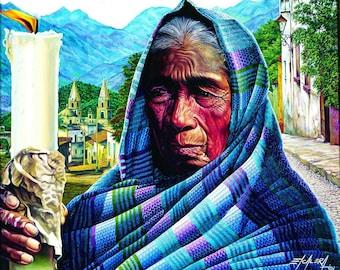 Dona Panchita // Giclee on Canvas