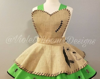 Oogie Boogie Retro Pin Up Apron Pinafore