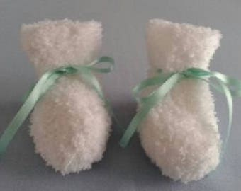 Baby booties - newborn - 1 month