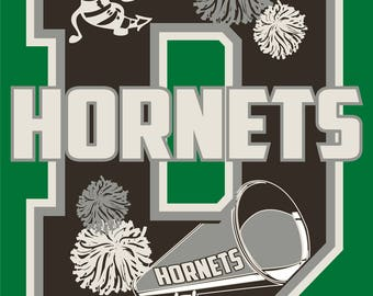 Hornet Cheerleader