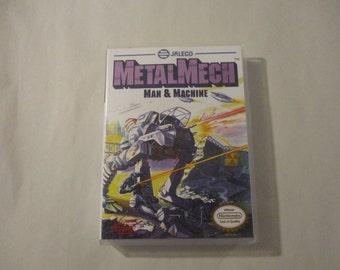 MetalMech Man & Machine Custom NES - Nintendo Case (NO GAME)