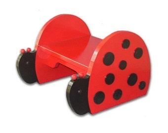 Ladybug Step Stool