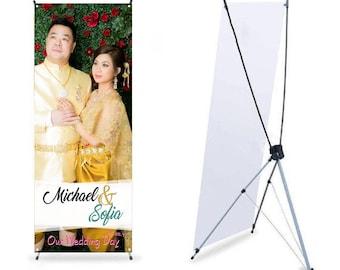 Adjustable X Banner Stands, Custom Banner design,