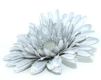 Light Grey or Gray Daisy - Arificial Flowers, Silk flowers