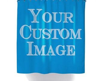 Custom Shower Curtain, Custom Curtain, Personalized Shower Curtain, Custom Image, Custom Backdrop, Custom Photograph, Printed in USA