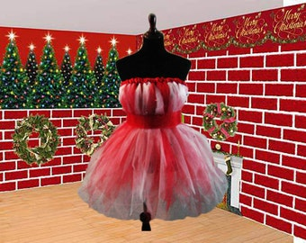 Jingle Bell All the Way Holiday Tutu