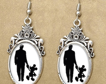 Walt Disney Drop Earrings