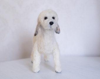 Needle Felted Dog, Personalised, Custom Dog
