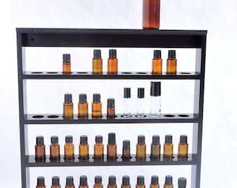 Essential Oil Storage Shelf, Display Rack, Holds 44 bottles