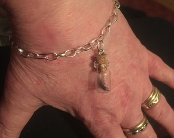 Real Raven Feather bracelet - ethically sourced