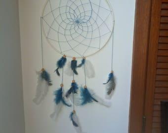 Blue and white Dreamcatcher