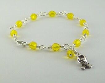 Sarcoma Awareness Bracelet