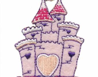 Princess Castle fusible badge