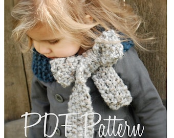 Knitting PATTERN-The Savannah Cowl (Child, Adult sizes)