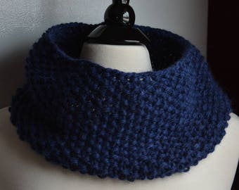 Alpaca and Merino Cowl / Neckwarmer -- four colors