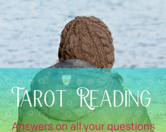 Psychic love reading, career reading, tarot reading by email 400 words