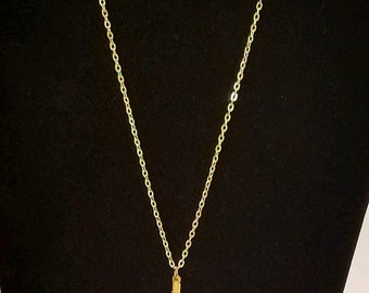 Cowrie shell minimal necklace