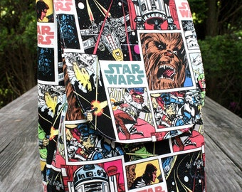 Star Wars Vintage Lunch Bag Insulated Reusable Lunch Box Ready To Ship