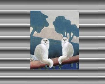 Cat Fridge Magnet: our beautiful cherry