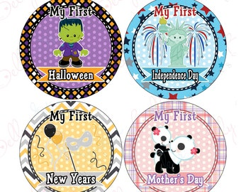 Babies First Holidays Stickers