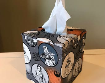 Tissue Box Cover (The Force Awakens Fabric, Star Wars)