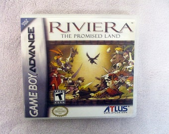 Riviera: The Promised Land GBA - GameBoy Advance Custom Case (***No Game***)