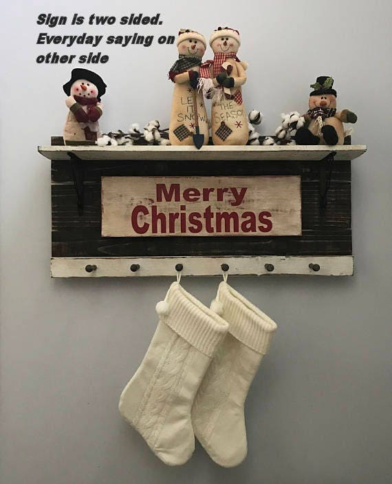 Christmas, Christmas Stocking holder, Christmas Decoration, Christmas Decor, Christmas Stocking, Christmas Signs, Christmas Stocking Holder
